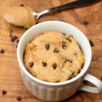5 Minute Peanut Butter and Chocolate Mug Cake