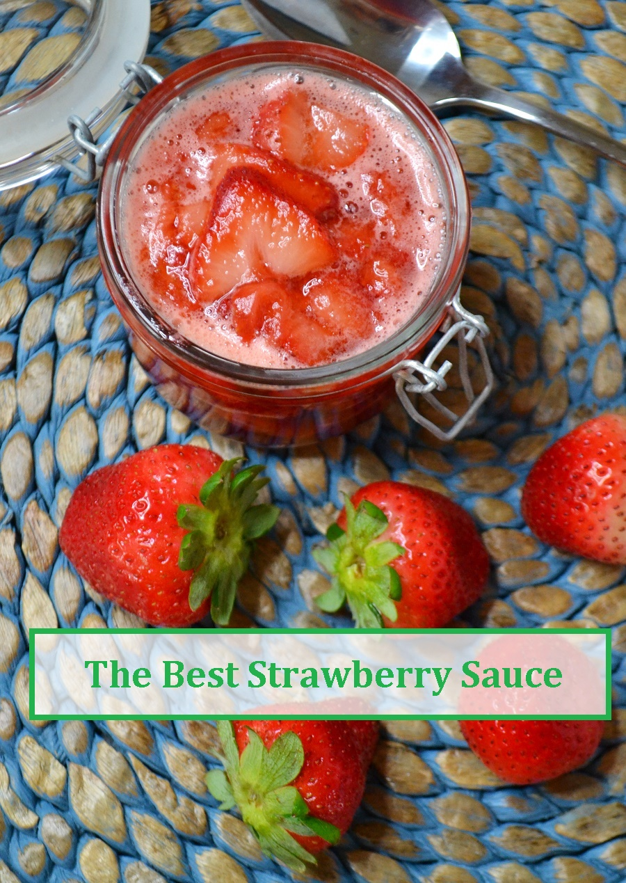 the best strawberry sauce